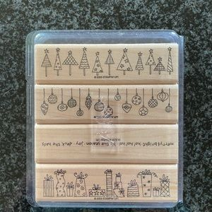 Stampin Up Crazy For Christmas Stamp Set